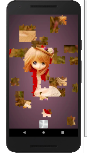 Cute Dolls Jigsaw And Slide Puzzle Game apkmr screenshots 1