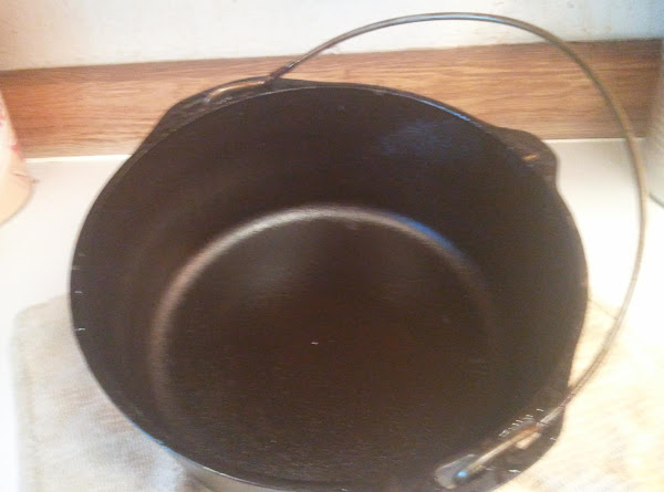Almost Dead Dutch Oven Saved!!! Recipe