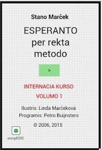 Esperanto course/kurso- screenshot thumbnail