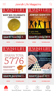 Jewish Life Magazine- screenshot thumbnail