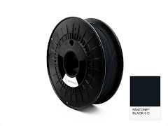 FiberForce Pantone (R) Black 6 C PLA Filament - 1.75mm (0.75kg)