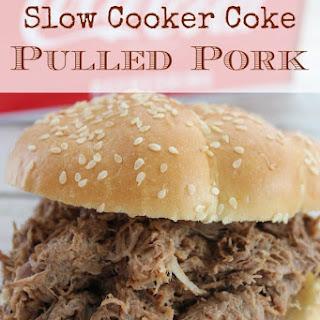 Slow Cooker Coke Pulled Pork.