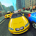 Taxi Cab City Driving Car icon