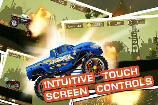 Mad Truck 2 -- physics monster truck hit zombie painmod.com screenshots 5