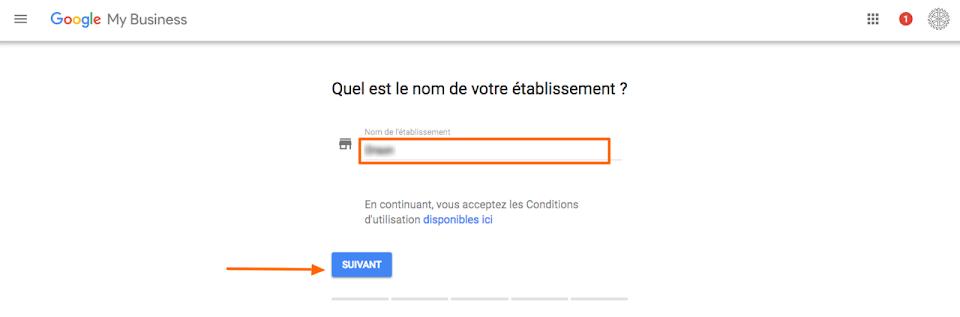 Comment paramétrer Google my business