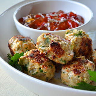 Healthy Thai Sesame Patties.