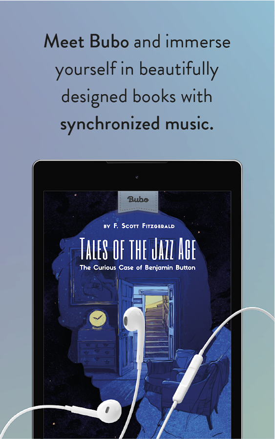 Bubo - Books with synchronised music (BETA)- screenshot