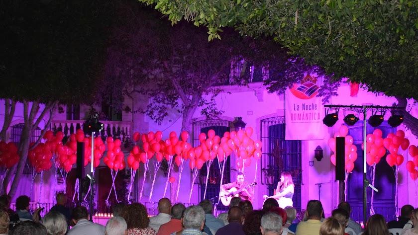 Noche romántica en Níjar.