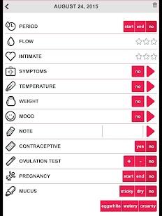Ovulation & Period Calendar- screenshot thumbnail