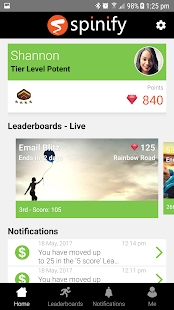 Spinify - Lively Leaderboards- screenshot thumbnail