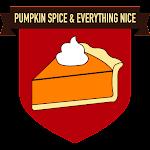 Button Pumpkin Spice & Everything Nice