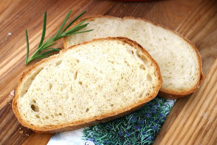 Crusty Bread with Yogurt and Honey Recipe | Yummly