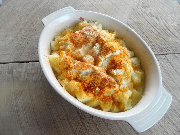 Mozzarella And Parmesan Cheese Potatoes