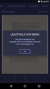 OCR Scanner with LEADTOOLS SDK- screenshot thumbnail