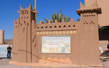 Photo: DB200516 historyczna reklama 'w 52 dni do Timbuktu'