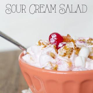 Sour Cream Salad