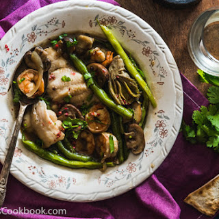 Mushroom Seafood Stew