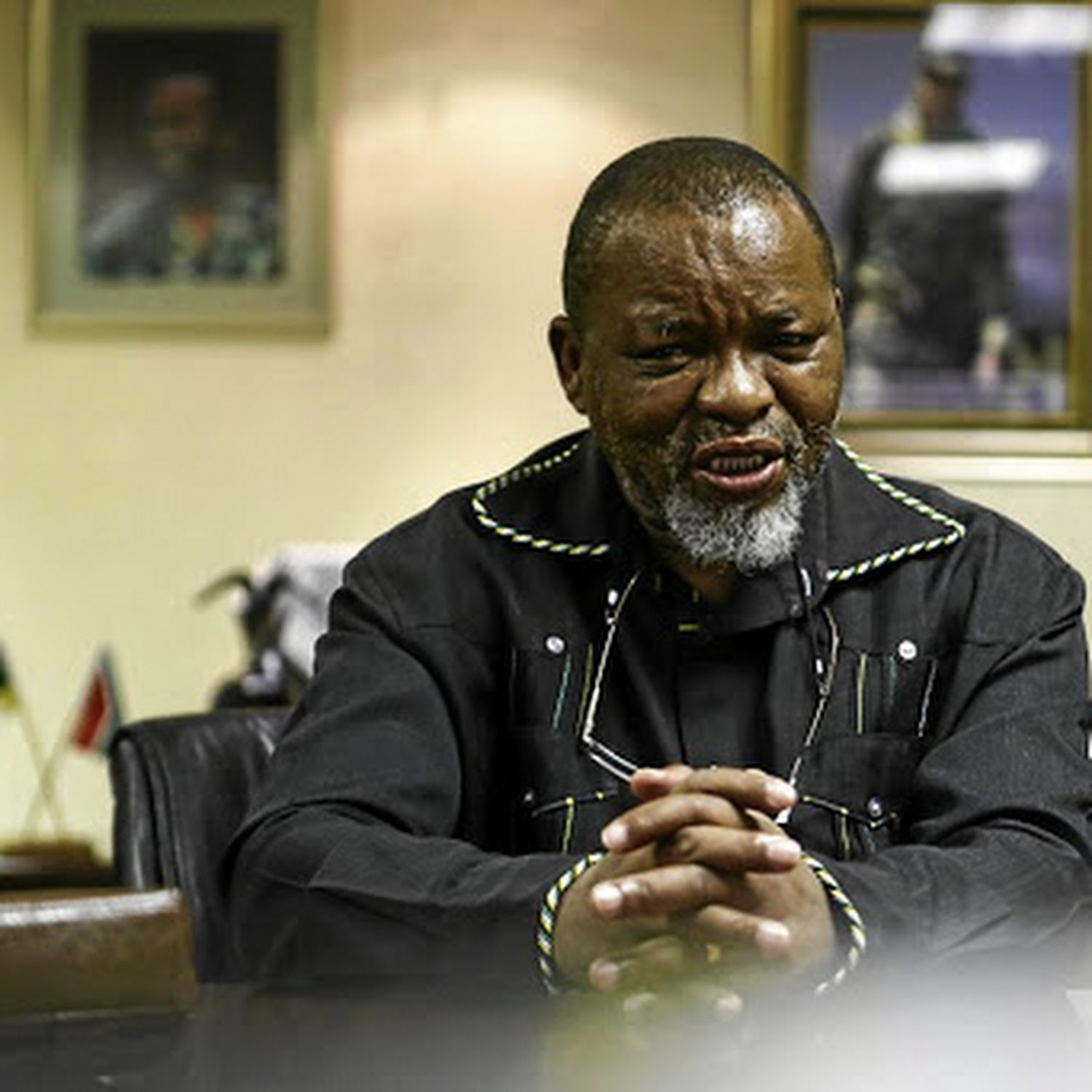 Minister Gwede Mantashe and wife test positive for Covid-19