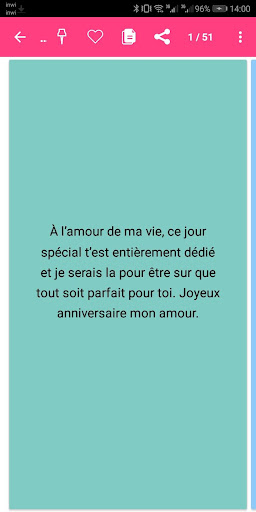 SMS Anniversaire 2020 4.0 screenshots 5