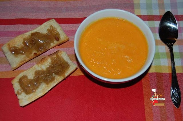 Cream of Carrot Soup with Orange and Turmeric Recipe