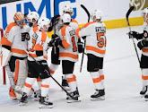 NHL : Les Philadelphia Flyers enchaînent une cinquième victoire, Winnipeg et Buffalo s'imposent