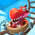 Idle Prehistoric Park - Theme Park Tycoon icon