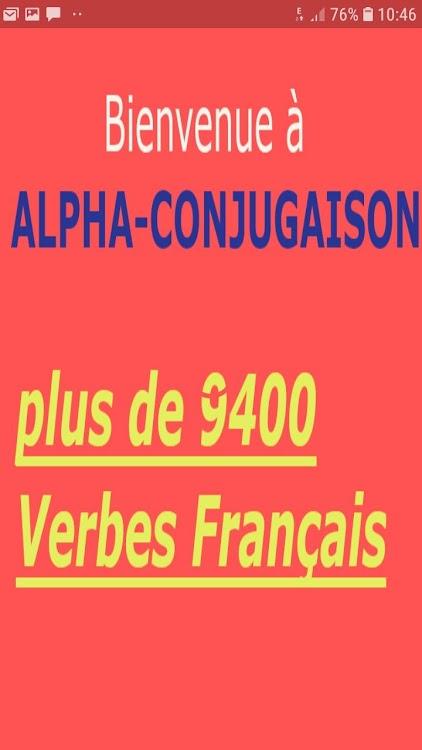 Alfa Conjugaison Verbes Francais Android Apps Appagg