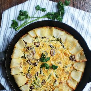 Potato Crusted Quiche.