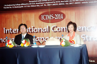 Photo: Dignitaries on the Dais of ICIMS Inaugural Function