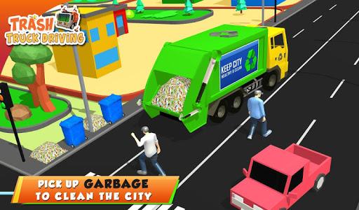 Urban Garbage Truck Driving - Waste Transporter 1 screenshots 16