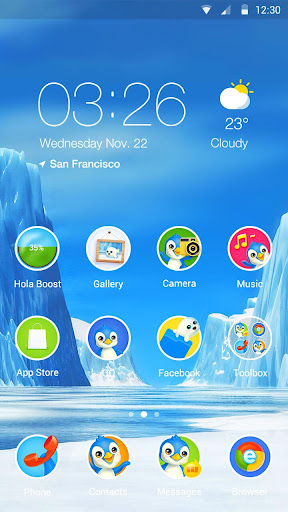 Pipsqueak Hola Launcher Theme