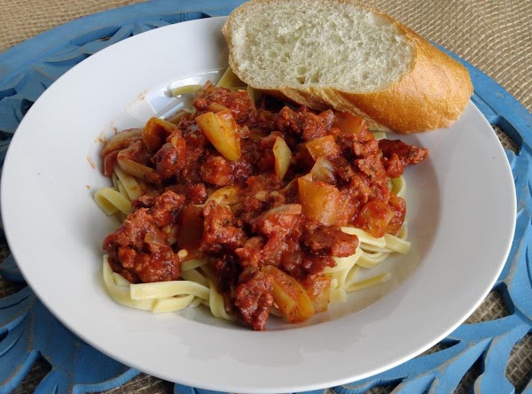 Sausage Cacciatore With Grandma's Peppers Recipe