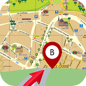 GPS Live Route Finder