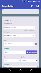 Auto+Tatkal: IRCTC Tatkal Ticket Booking Apk Download For Android 3