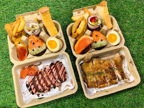 也野餐參 特色蛋盒早午餐 室內也可以草地野餐~ 超夯IG網美集散地!