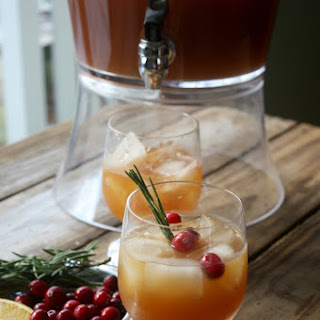 Bourbon Holiday Punch