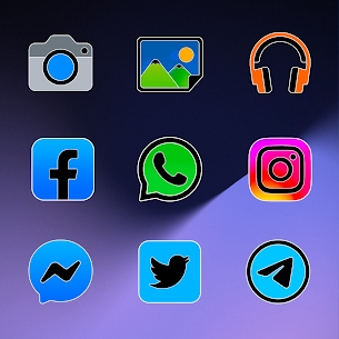 Pixel Limitless Fluo – Icon Pack (MOD, Paid) v1.1 5