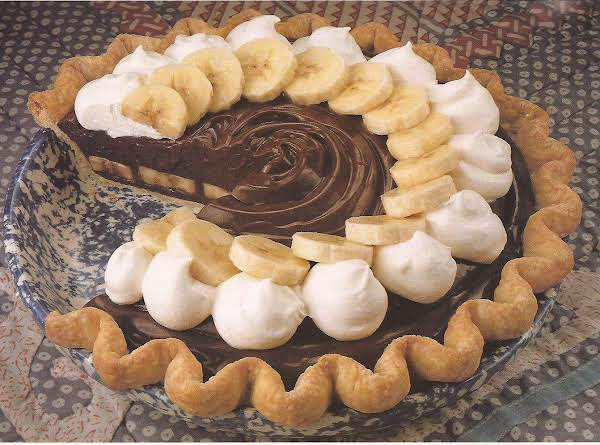 Chocolate Banana Cream Pie Recipe