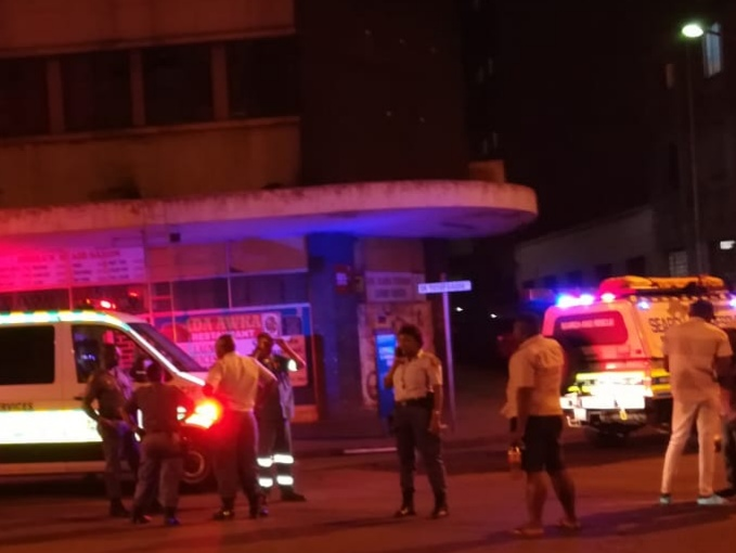 Paramedics and police search and rescue unit officers recovered the body of a woman who plunged from a high-rise building in the Durban city centre on Sunday night.
