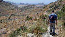 Vistas del Geoparque Europeo Cabo de Gata-Níjar, también considerado Parque Natural.