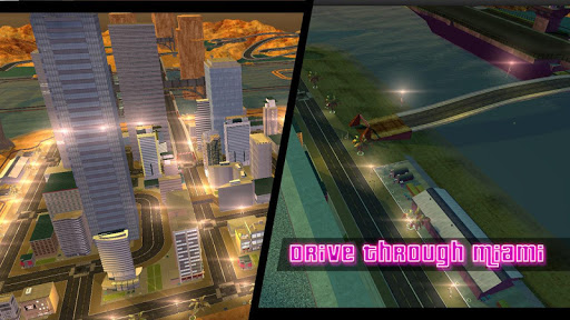 Miami Crime Games - Gangster City Simulator - screenshot