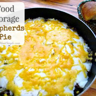 Food Storage Shepherds Pie