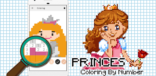 Descargar Princess Pixel Art Sanbox Coloring By Number