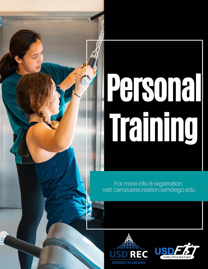 USD Rec Personal Training Flyer