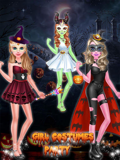 Halloween Girl Costume Party