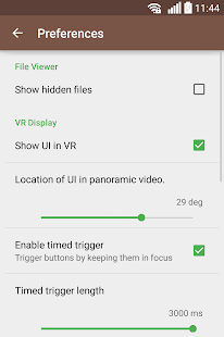 VRTV VR Video Player Screenshot