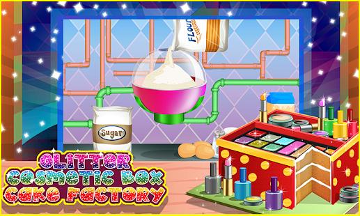 Glitter Cosmetic Box Cake Factory - Dessert Maker - náhled