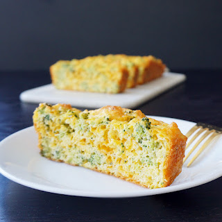 Cheddar Broccoli Breakfast Bread (low Carb).