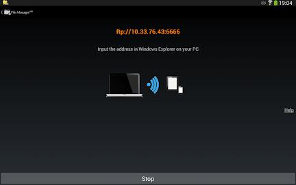 File Manager HD(File transfer) Screenshot 10