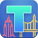 Triviappolis Treasures - travel trivia with prizes icon
